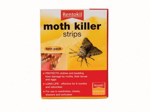 Rentokil Fa106 Moth Killer Strips X2