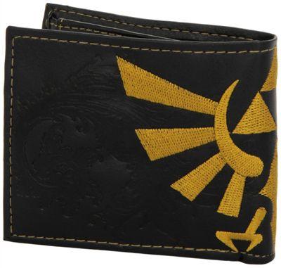Nintendo Zelda Logo Bifold Black Wallet