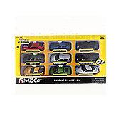 RMZ City Collection Set of 9 Die Cast Cars
