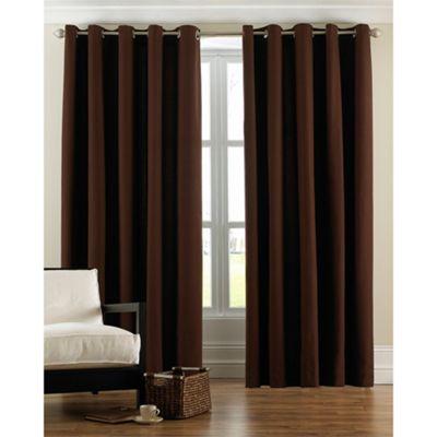 Riva Home Panama Damson Eyelet Curtains - 90x72 Inches (229x183cm)