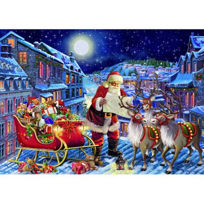The Christmas Journey - 200XLpc Puzzle
