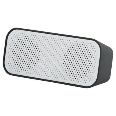 Tesco Portable Rechargable Stereo Bluetooth Speaker - Black