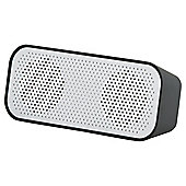 Tesco Portable Rechargable Stereo Bluetooth Speaker - Black