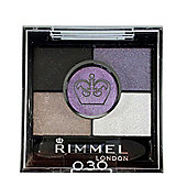 Rimmel London Glam Eyes HD 5 Colour Eye Shadow 3.8g-030 Purple Crown