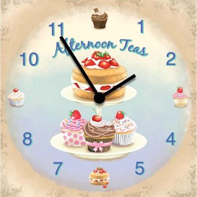 Original Signs - Afternoon Tea Clock