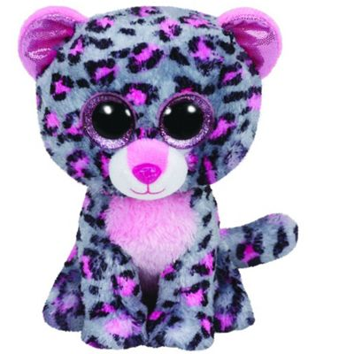 TY Beanie Boo Plush - Tasha The Leopard