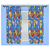 Paw Patrol Pencil Pleat Curtains, Blue (54 x 66'')