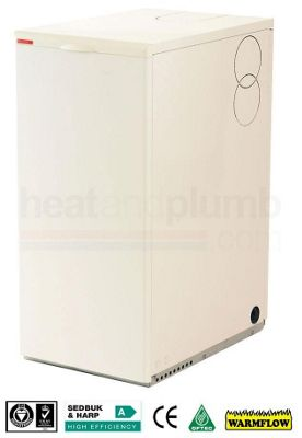 Warmflow U-SERIES Kitchen / Utility Condensing Conventional Oil Boiler 26-33kW