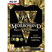 The Elder Scrolls III - Morrowind Game of the Year GOTY - PC