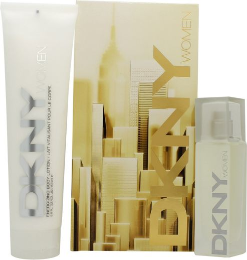 DKNY Energizing Gift Set 30ml EDP + 150ml Body Lotion For Women