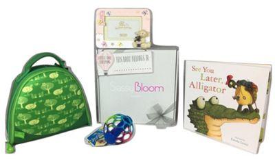 Sassy Bloom 1St Birthday Baby Gift Box, Pink