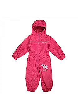 Regatta Kids Puddle IIII All in 1 Suit - Pink