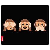 Speedlink Monkey See No Hear Speak Silk Mousepad (SL-620000-MONKEYS)