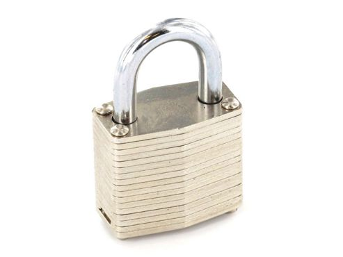 Securit S1115 Lam Padlock Brass Cylinder 40mm