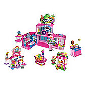 Shopkins Kinstructions Deluxe Shopville Set