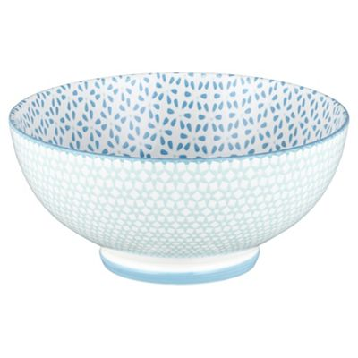Kenza Large Serving Bowl light blue  sc 1 st  Tesco & Buy Kenza Large Serving Bowl light blue from our Platters u0026 Servers ...