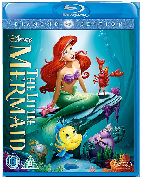The Little Mermaid Blu Disc
