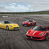 Triple Supercar Thrill with Free High Speed Passenger Ride - Week Round