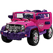 Jeep Style Electric Ride On Car - 12V - Pink
