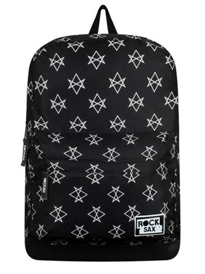 RockSax Hex Black Backpack 32x42x11cm