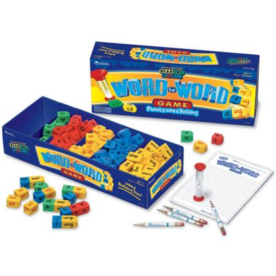Learning Resources Reading Rods Word For Word Game