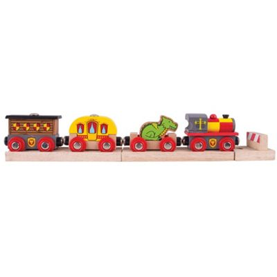 Bigjigs Rail Medieval Train - Wooden Train Sets and Accessories