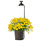 Rustic Vonia Plant Pot & Stand with Tap