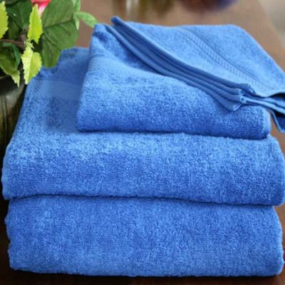 Homescapes Turkish Cotton Royal Blue Face Towel