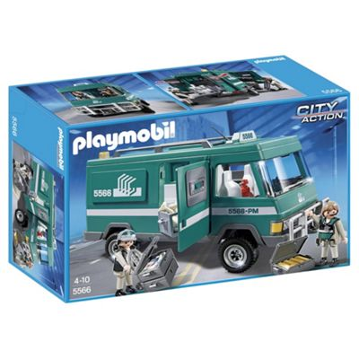 Playmobil 5566 City Action Money Transport Vehicle