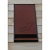Integrated Eco Bat Box with Crevice Roosting Chamber in Brick colour