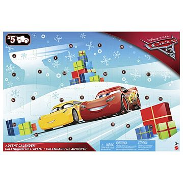 Tps Calendar.Cars 3 Advent Calendar