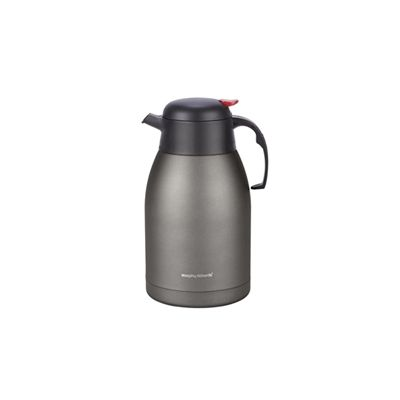Morphy Richards 2000ml Stainless Steel Vacuum Flask - Titanium