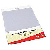 Sew Easy Plain Plastic Template (280mm x 215mm)