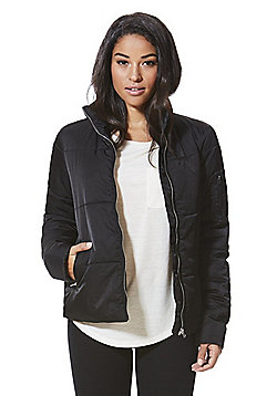 JDY Quilted Jacket Black 10