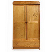 Disney Winnie the Pooh Double Wardrobe - Country Pine