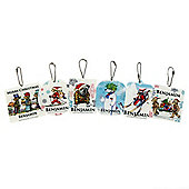 Help for Heroes Personalised Christmas Themed Tree Decorations set of 6 (FIXED)
