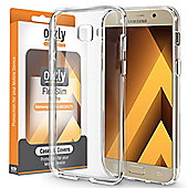 Orzly Flexi Case Cover for Samsung Galaxy A5 (2017) - Clear