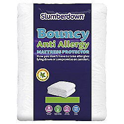 Slumberdown Bouncy Anti-Allergy mattress protector double
