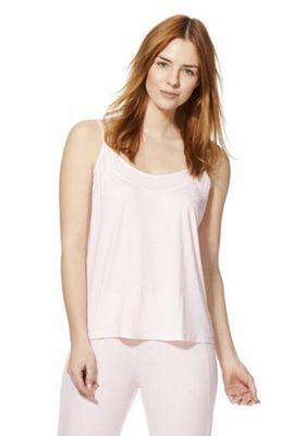 F&F Rib Lounge Cami Top Pink 20-22