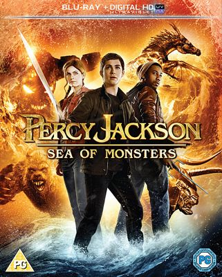 Percy Jackson Sea Of Monsters (Blu-ray)