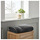 Fox & Ivy Egyptian Cotton Bathroom Textiles - Charcoal
