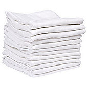 Kingfisher Muslins - 12pk - White
