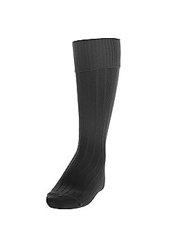 Precision Training Plain Football Socks - Black