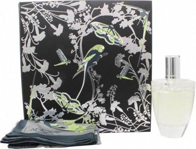 Lalique Fleur De Cristal Gift Set 100ml EDP + Shawl For Women