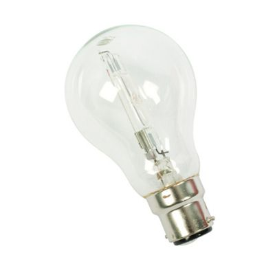 Energy Saving 28W GLS Halogen Bulb Light BC Fitting