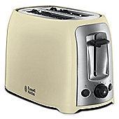 Russell Hobbs Darwin 2 Slice Toaster - Cream