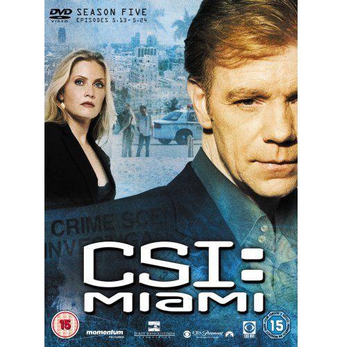 Csi: Miami - Season 5 Part 2 (DVD Boxset)