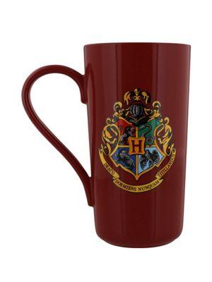 Harry Potter Platform 9 3/4 Tall Coffee Burgundy 10oz Ceramic Mug