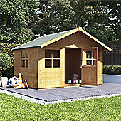 BillyOh Lollipop Max Children's Wooden Playhouse Playhouse, 6ft x 7ft