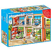 Playmobil 6657 City Life Furnished Children's Hospital Playset